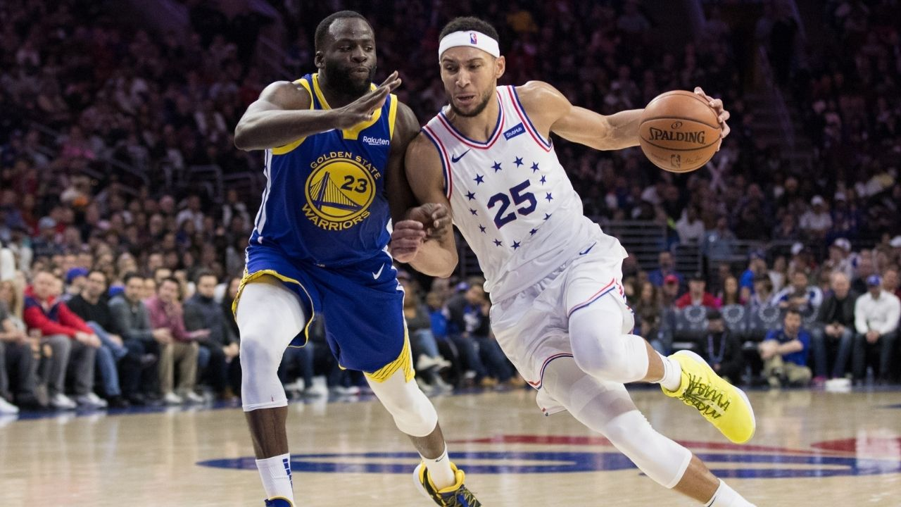 """""""Warriors should trade Draymond Green for Ben Simmons"""": Chris Broussard outlandishly suggests the Sixers forgo the Damian Lillard sweepstakes for the former DPOY"""