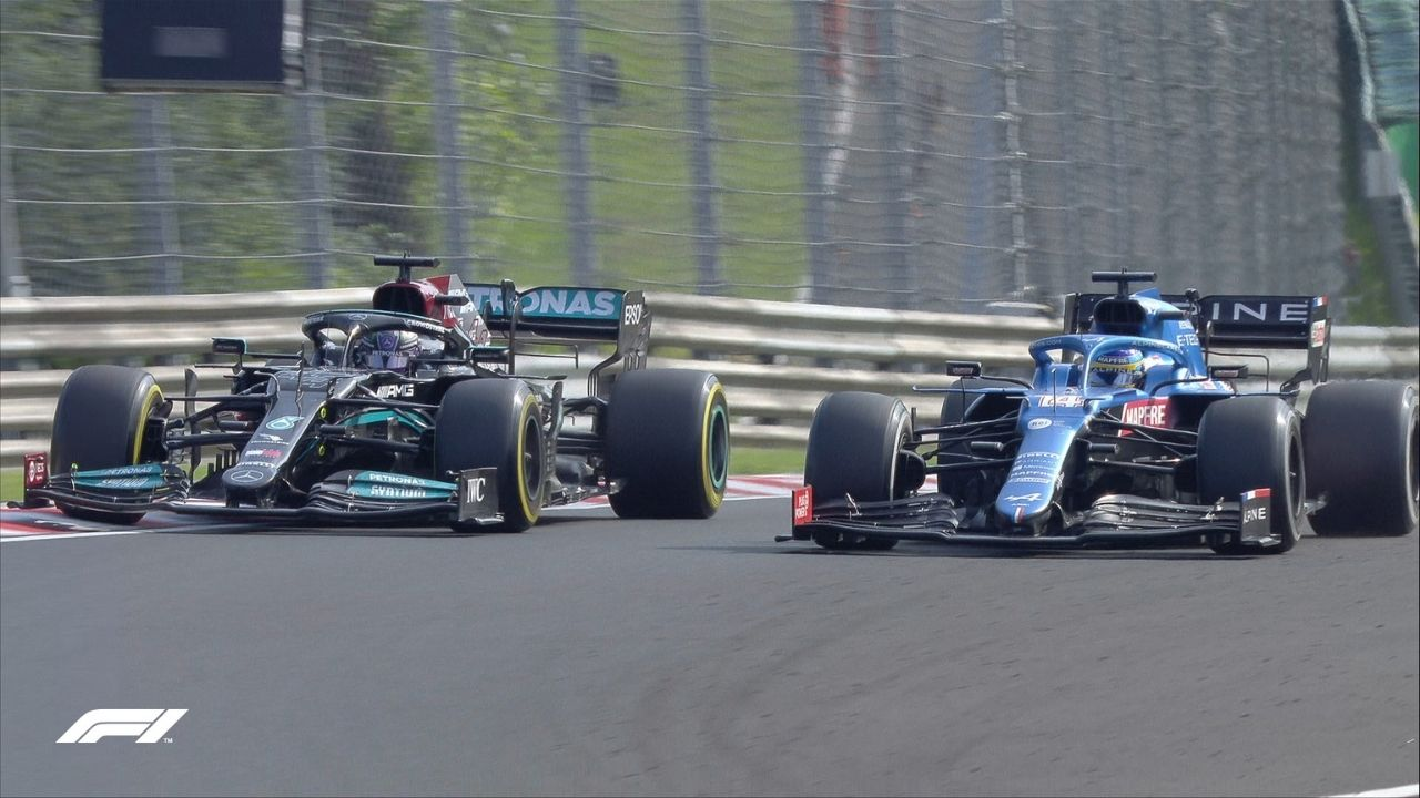"""""""Now looking back on it, it was amazing""""– Lewis Hamilton relishes thinking about epic battle with Fernando Alonso in Hungary"""