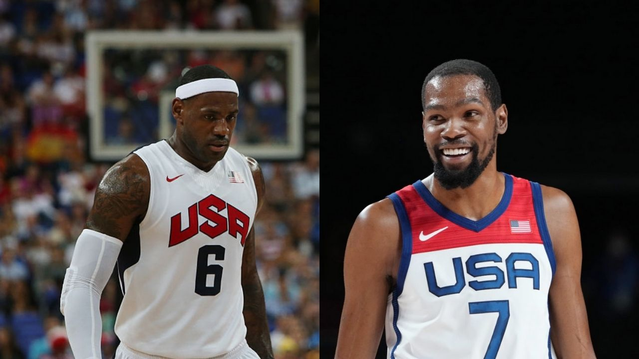 'Kevin Durant is the greatest Olympic basketball player, you watching LeBron James?': Skip Bayless mocks Lakers star after KD leads Team USA to Gold Medal
