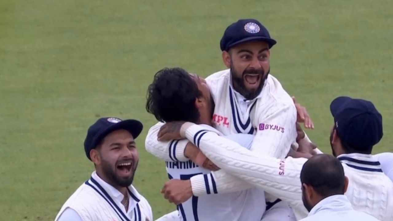 Jonny Bairstow dismissal: Virat Kohli jumps for joy after nailing DRS call to dismiss Bairstow at Lord's
