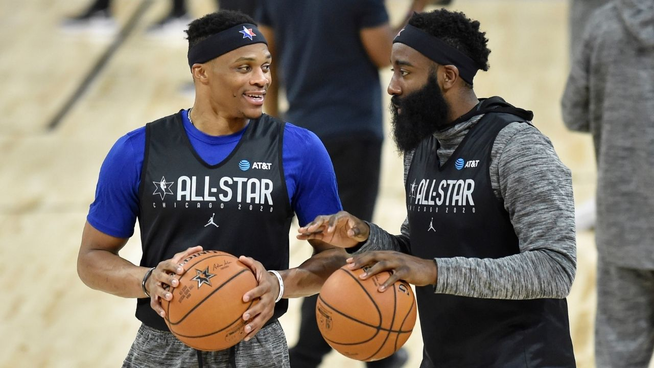 """""""Russell Westbrook gifted a James Harden a Richard Mille watch for his birthday"""": Nets superstar receives rare s"""