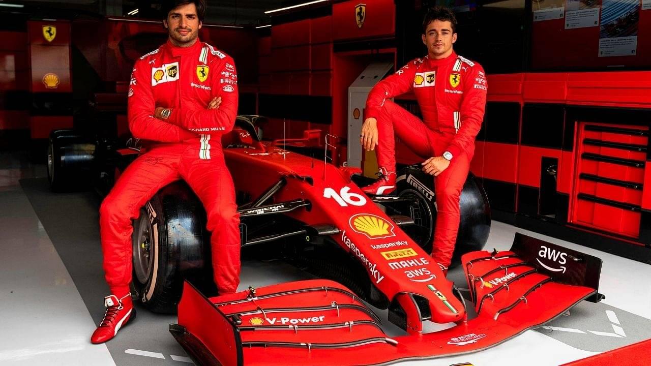 """They both add 80 points"" - Ferrari boss Mattia Binotto hints at long-term partnership between Charles Leclerc and Carlos Sainz"