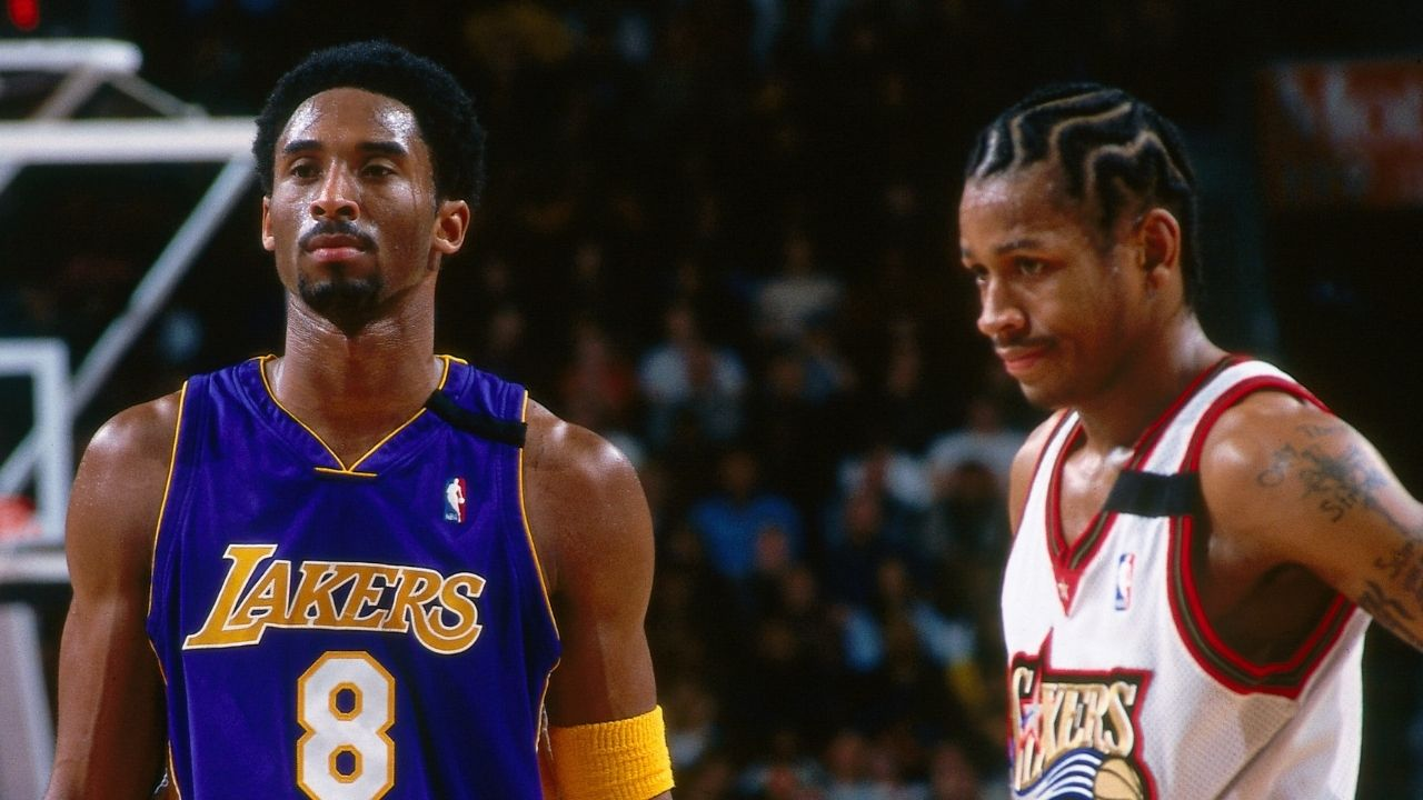 """""""Kobe Bryant studied me by watching sharks hunt seals"""": Allen Iverson revealed that the Lakers legend tore up a hotel room in search of answers to guard the Sixers superstar"""