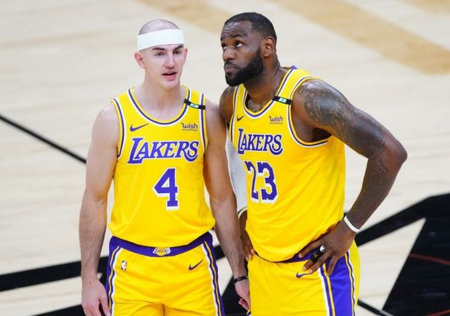 """""""LeBron James will miss Alex Caruso dearly!"""": Skip Bayless draws a confusing conclusion from the Bald Eagle's departure from the Lakers in free agency"""