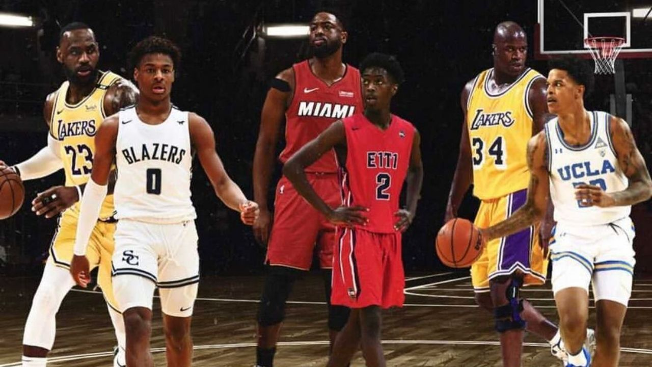 """""""LeBron James and Bronny, think you can handle this heat?"""": Lakers' legend Shaquille O'Neal challenges the King and Dwyane Wade in a father-son 2v2"""
