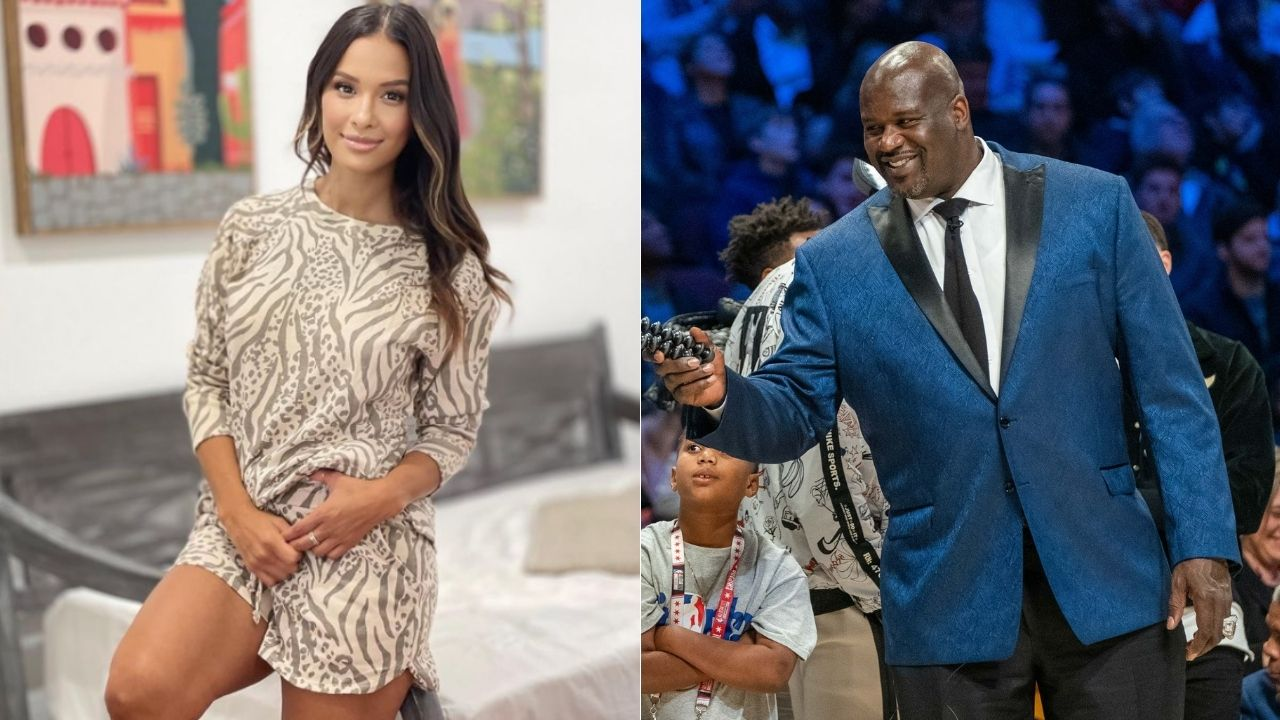 """""""Once you go Shaq you never go back"""": When Lakers legend Shaquille O'Neal flirted with Daily Pop guest host Rocsi"""