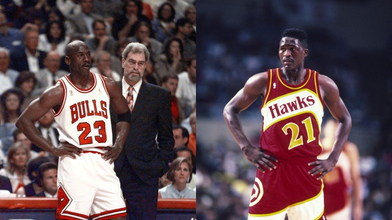 """""""What the hell is Michael Jordan doing in our locker room?"""": When the 'GOAT' warned Dominique Wilkins and the Hawks about dropping 60 points"""