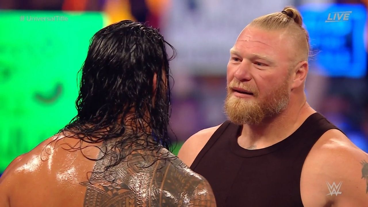 Top WWE star explains why Brock Lesnar chose to go after Roman Reigns