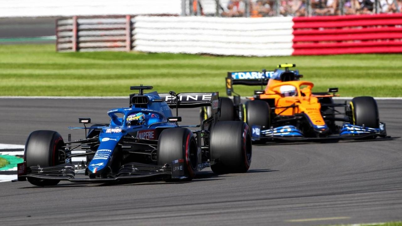 """""""We lost a little bit too much ground with McLaren""""– Fernando Alonso on Alpine's head to head competition against McLaren for P3 in championship"""
