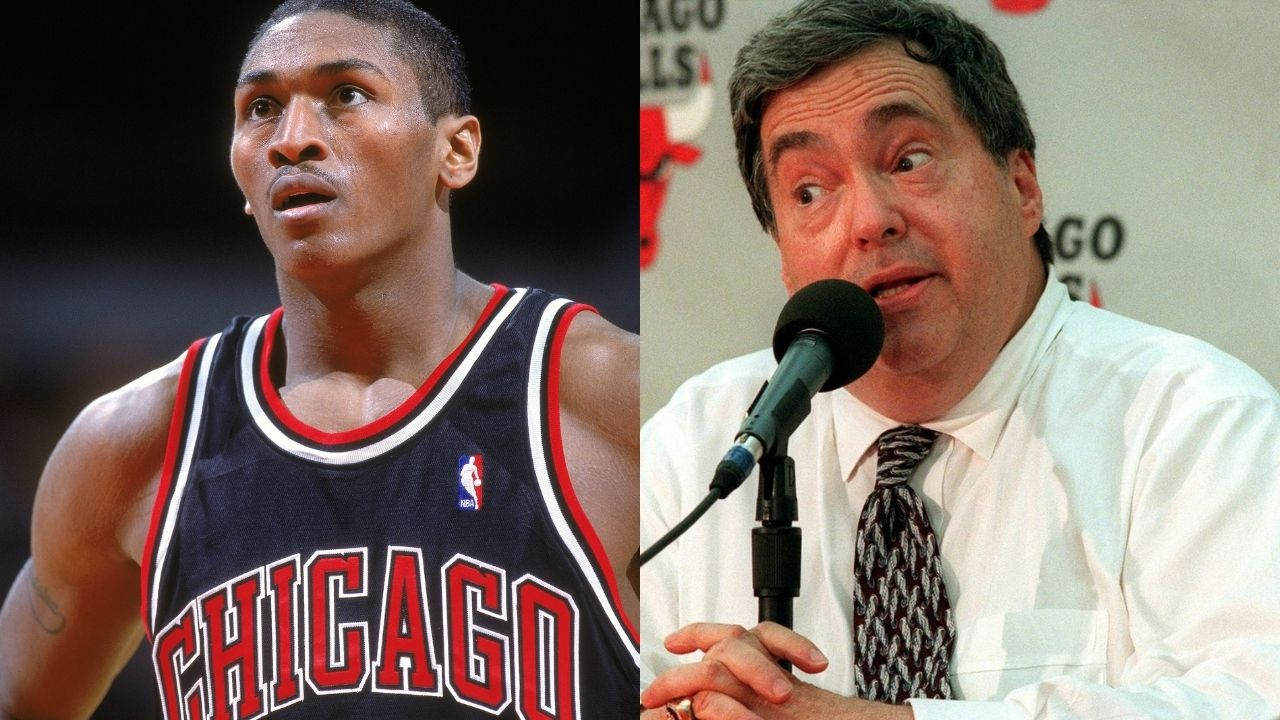 """""""The Bulls are going to win a 7th title to wipe out the other six"""": When Jerry Krause told Metta World Peace about claiming another title right after Michael Jordan's departure"""