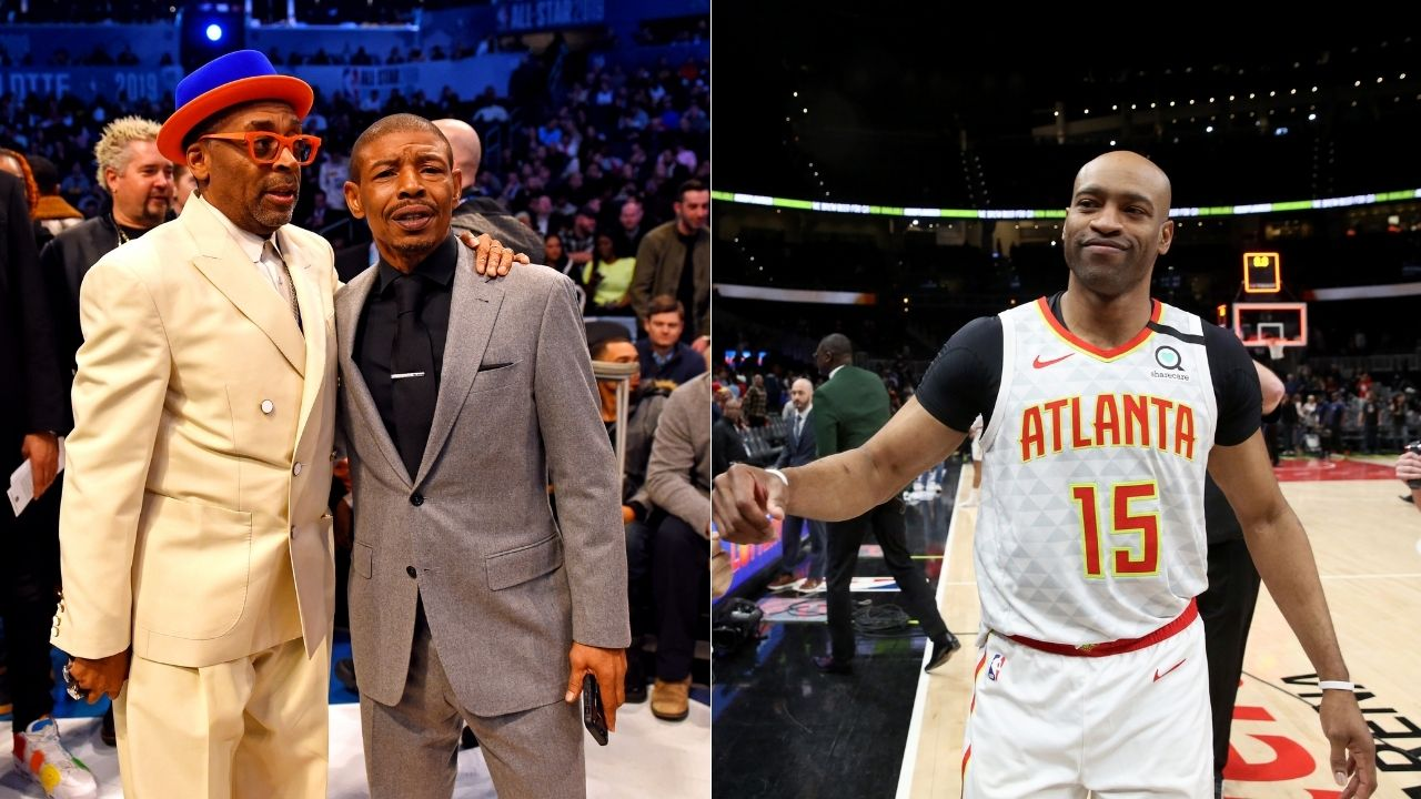"""""""We had a Muggsy Bogues rule"""": Vince Carter applauds his former Raptors teammate's defensive positioning while poking fun at his 5'3"""" height"""