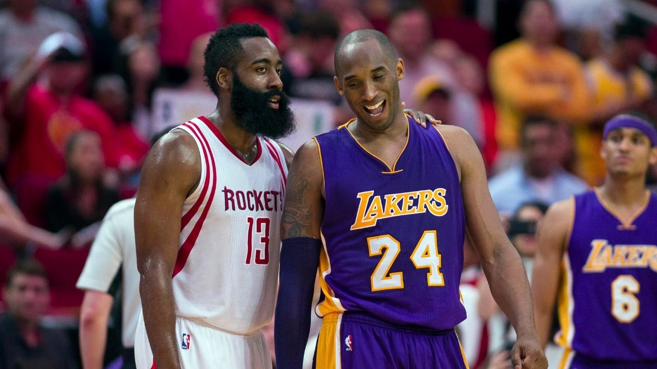 """""""Kobe Bryant had 40, I had 50, but he hit the Game-Winner"""": When Nets' superstar James Harden described his Drew League match-up against the Lakers' legend"""