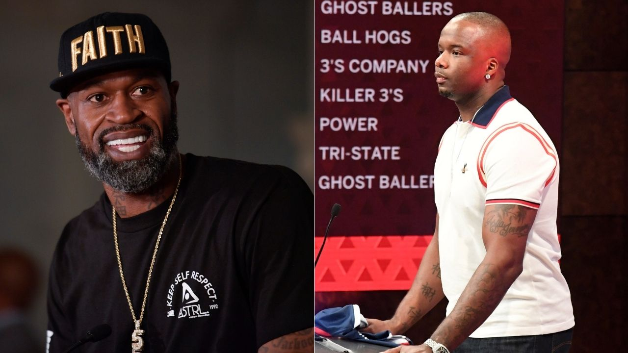 """""""Hockey and baseball players beat each other, but they aren't called 'thugs'"""": Jermaine O'Neal points out hypocrisy in NBA's treatment of 'Malice in the Palace' on All the Smoke Podcast with Stephen Jackson"""