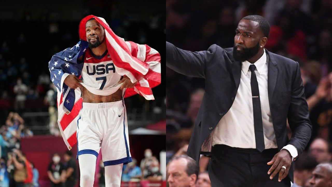 """""""Kevin Durant is the greatest scorer ever!"""": Kendrick Perkins Nets superstar as the best NBA scorer over the likes of Michael Jordan and Kobe Bryant"""