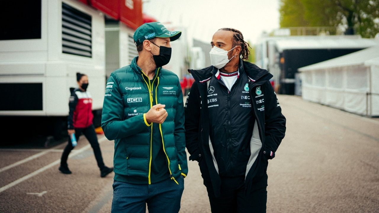 """""""I'm so gutted for Seb""""– Lewis Hamilton reacts to Sebastian Vettel's disqualification from Hungary GP displacing him from his P2 podium"""