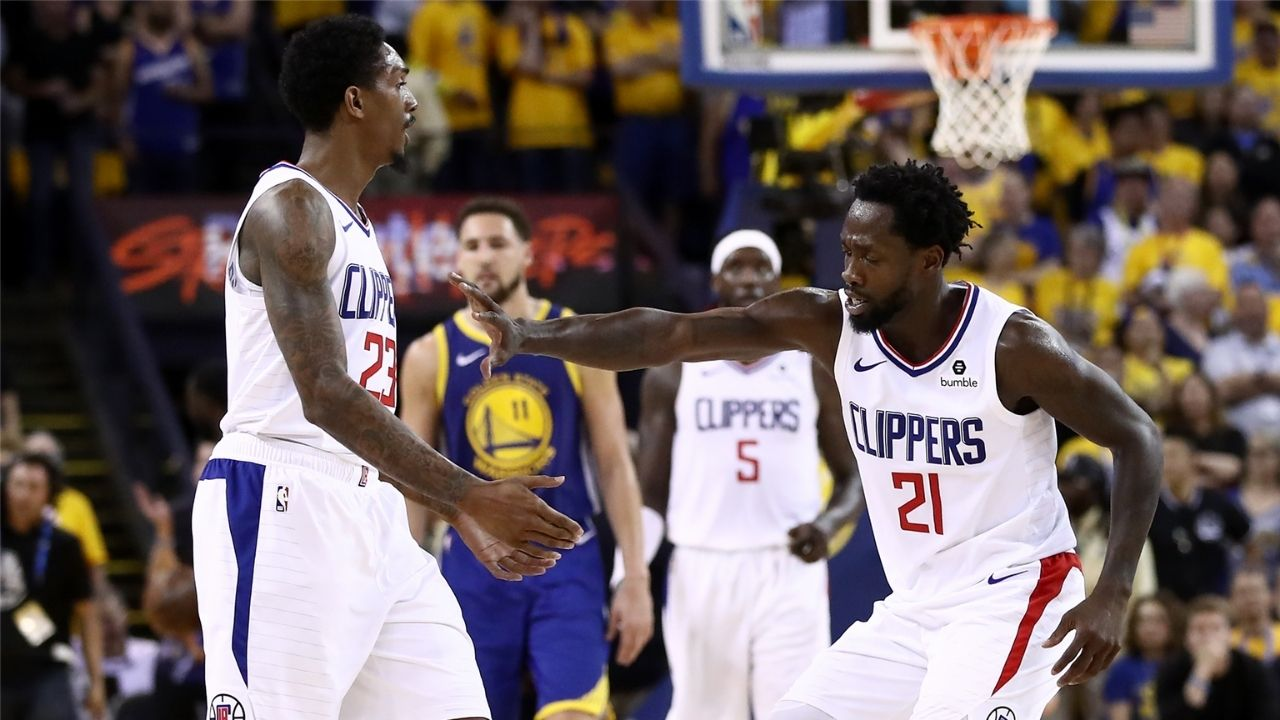 """""""Don't talk to us!"""": Video of former Clippers' stars Patrick Beverly and Lou Williams celebrating Kawhi Leonard and Paul George's signing goes viral"""