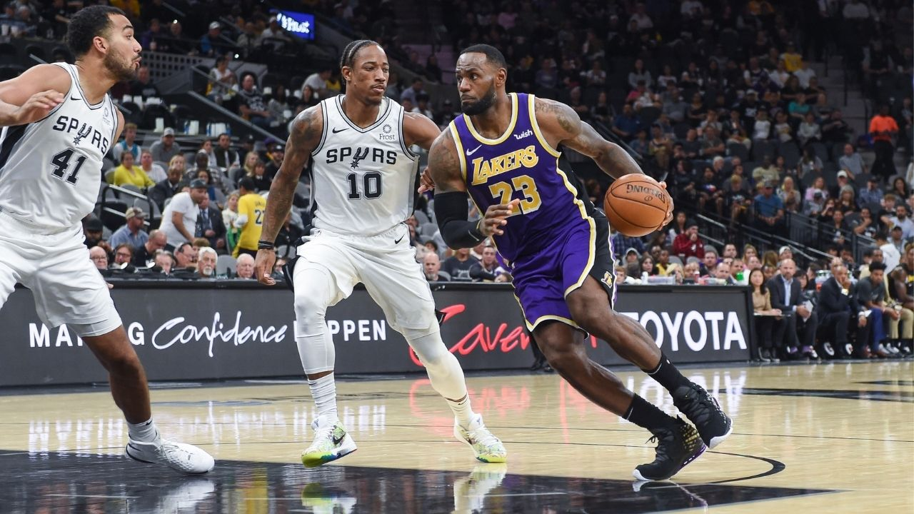 """""""LeBron James is one of the few dictators in the league"""": DeMar DeRozan professes his love for the Lakers MVP amidst NBA trade rumors"""