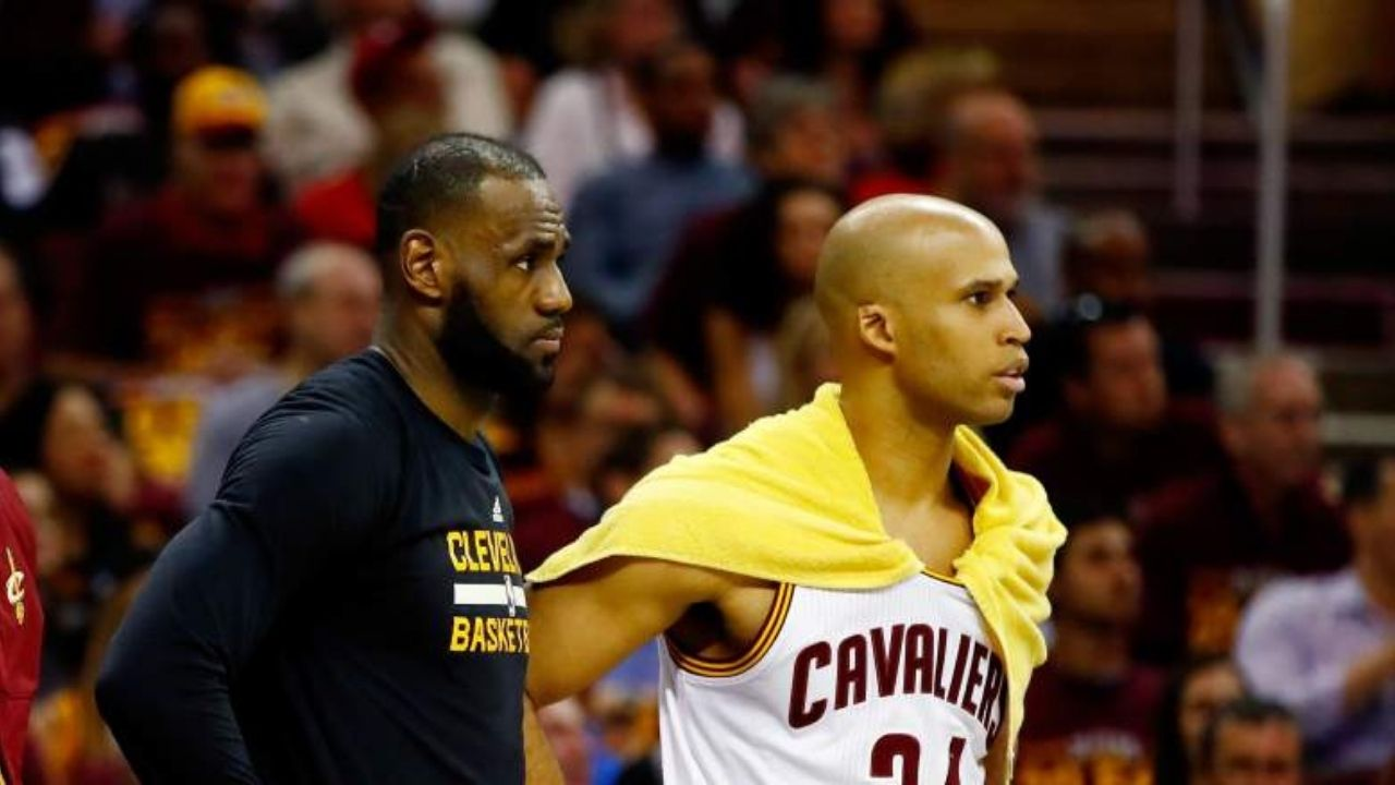 """""""I'm ready to be a Laker"""": Richard Jefferson hilariously jokes about reuniting with LeBron James amidst NBA free agency"""