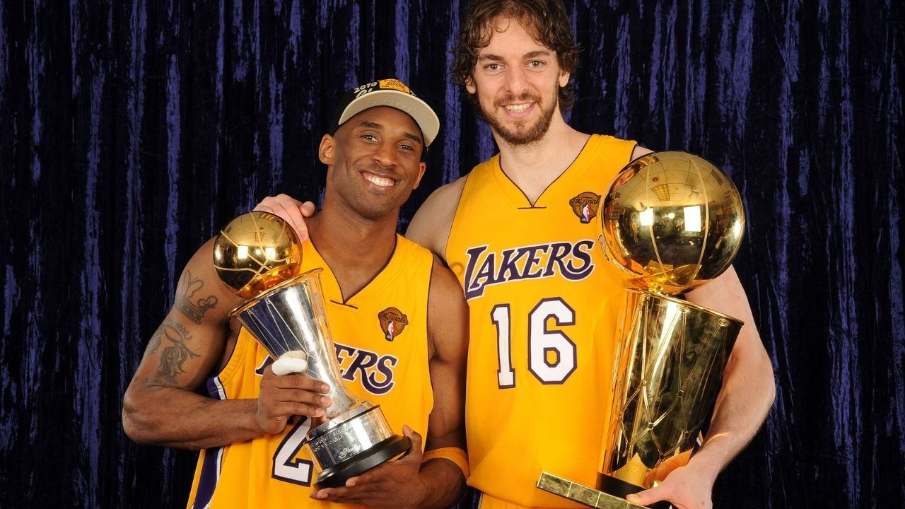 """""""Kobe Bryant taught me what it meant to be a winner"""": Pau Gasol gives a special mention to his long-time Lakers teammate during his retirement speech"""