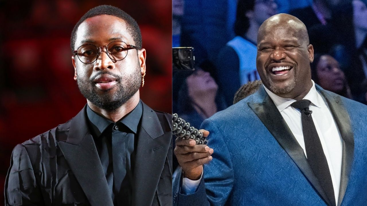 """""""Shaq is going to have to come to my house and get it"""": Dwyane Wade is ready to pay up for losing a bet to Shaquille O'Neal last season"""