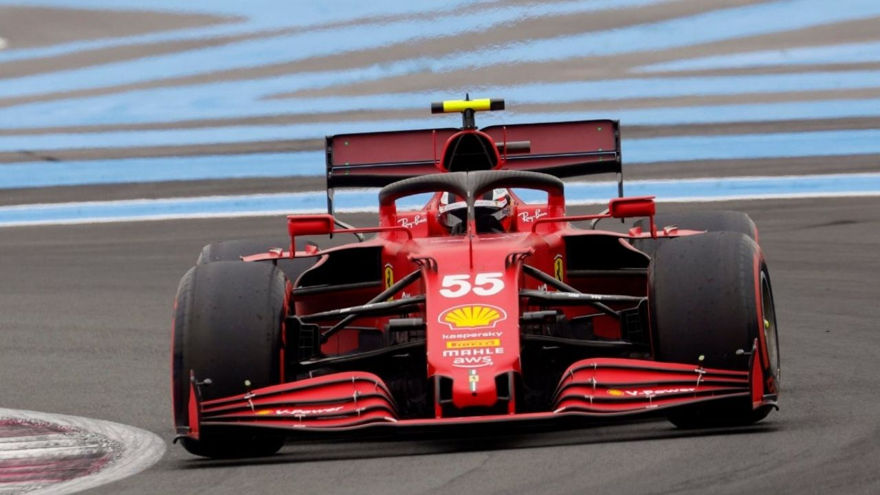 """""""That was quite impressive""""– Carlos Sainz fascinated with Ferrari pulling itself up after the French Grand p"""