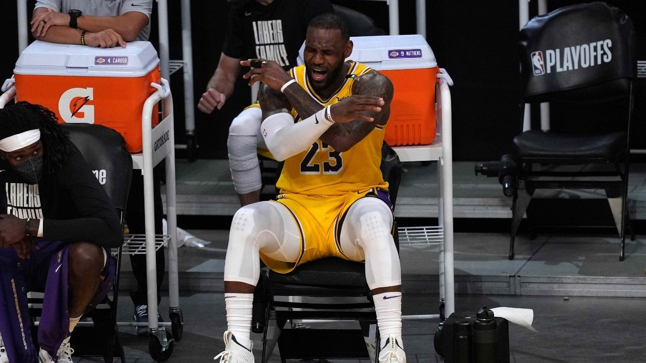 """""""Ya'll better be ready for next season!"""": LeBron James throws a serious warning shot at the NBA community as Kevin Durant and Giannis win best player over him"""