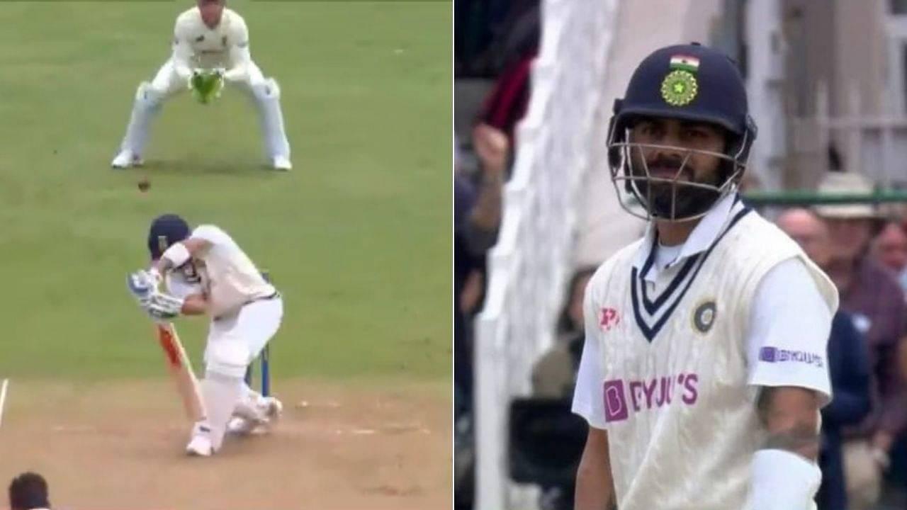Kohli wicket today video: James Anderson sends back Cheteshwar Pujara and Virat Kohli on successive deliveries at Trent Bridge