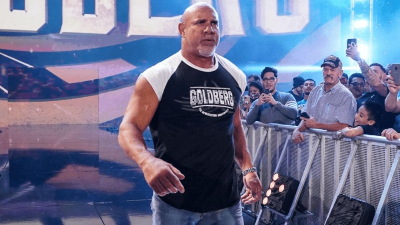 Goldberg says he wants to give back to Wrestling