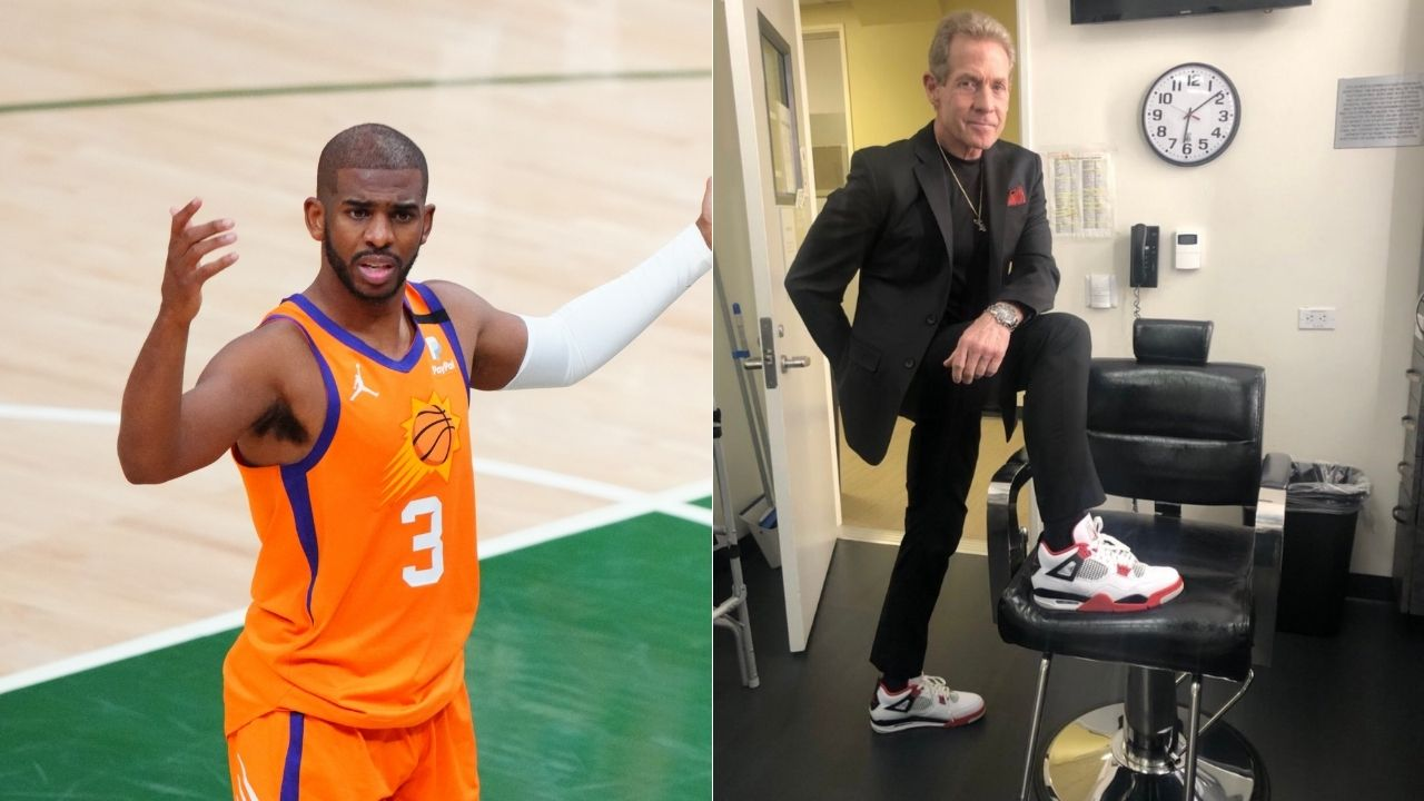 """""""Skip Bayless came up with the nickname CP0 for Chris Paul"""" : Fan traces back the origins of hilarious play on Suns superstar's self-appointed name CP3"""