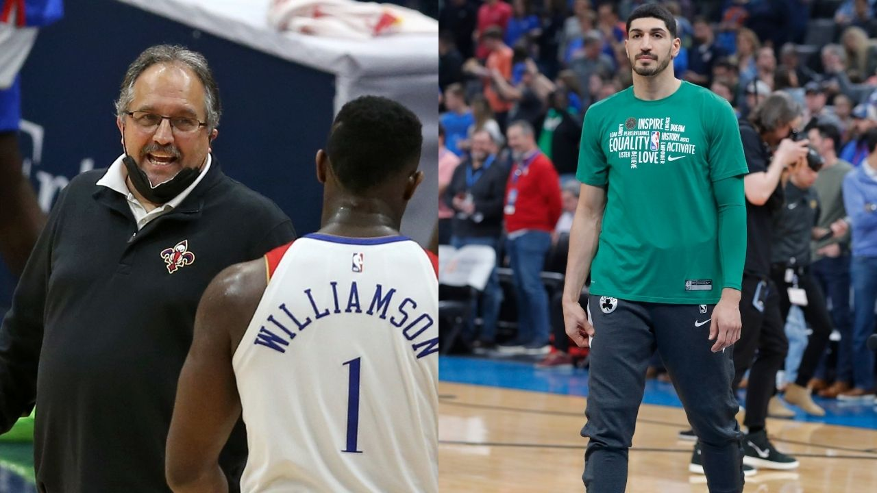 """""""Stan Van Gundy, what a freaking ignorant thing to say!"""": Enes Kanter calls out the former Pelicans coach for an insensitive tweet regarding women's rights in Islam"""