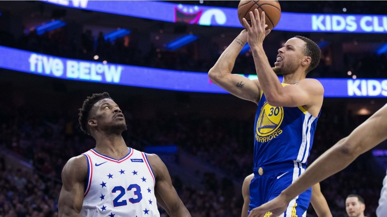 """""""It doesn't matter where Stephen Curry is on the court, he is always in his spot"""": When Jimmy Butler explained why the Warriors MVP was one of his 5 toughest players to guard"""
