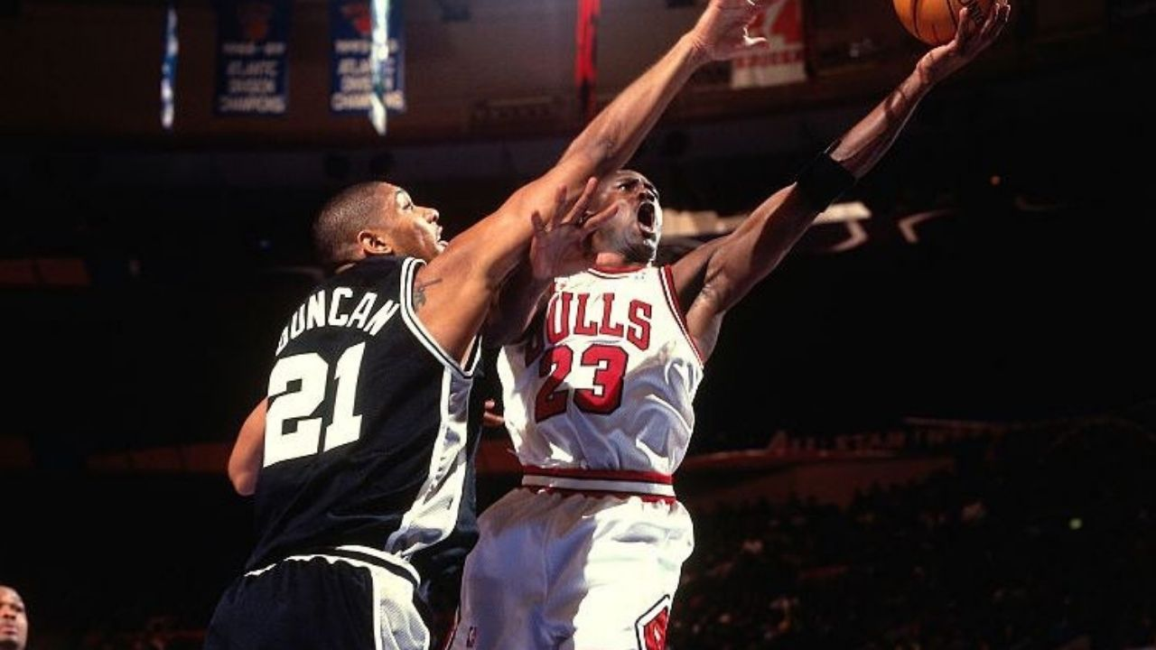 """""""No, I don't like Michael Jordan"""": When Tim Duncan told Dan Patrick that he was not impressed by the 'GOAT' despite his six Bulls championships"""