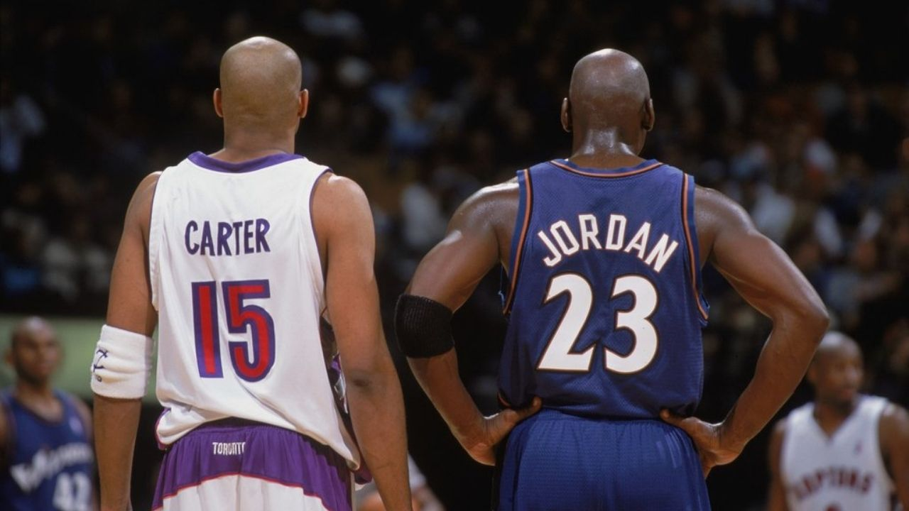 """""""I let Michael Jordan start in the 2003 All-star game"""": When Vince Carter admitted that the NBA encouraged him to let the Bulls legend get his final moments with his fans"""
