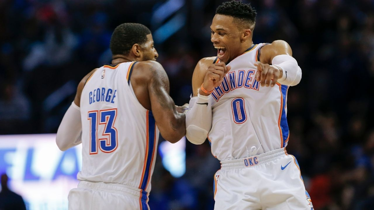 """""""Kevin Durant, Paul George and Bradley Beal all had their best scoring years with Russell Westbrook"""": Incredible stat proves how effective LeBron James and Anthony Davis could be alongside legendary Lakers PG"""