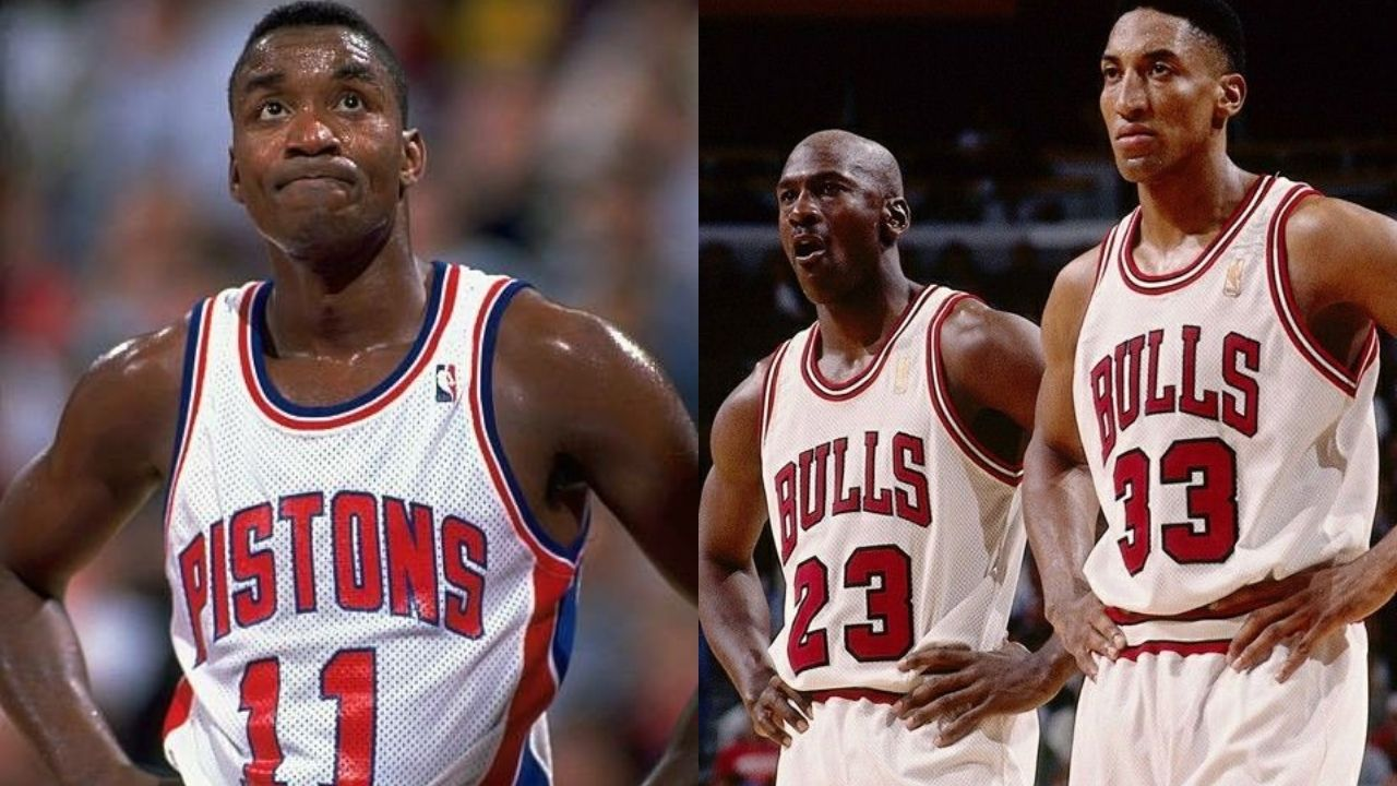 """""""Michael Jordan can say he didn't want me on the 'Dream Team' but Scottie Pippen can't say nothing!"""": When Isiah Thomas talked about his distaste for the Bulls legend"""