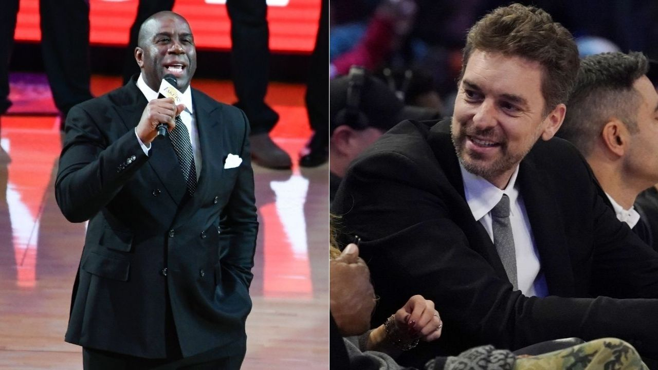 """""""It was sad to hear Magic Johnson was retiring from basketball and his life was in serious risk"""": How Pau Gasol aspired to be a doctor after the Lakers legend announced his retirement due to HIV in 1991"""