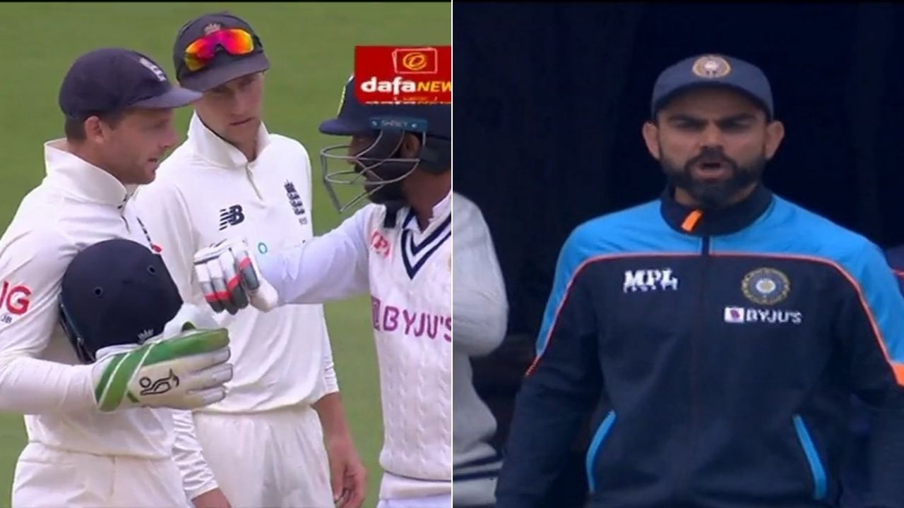 Jasprit Bumrah fight: Bumrah and Jos Buttler involved in heated exchange at Lord's; Virat Kohli exults after Bumrah scores boundary