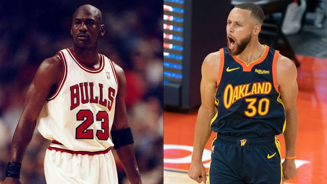 """""""Stephen Curry is the Michael Jordan of our era!"""": When Charles Barkley and Kenny Smith discussed an interesting comparison between the Warriors superstar and the Bulls legend"""