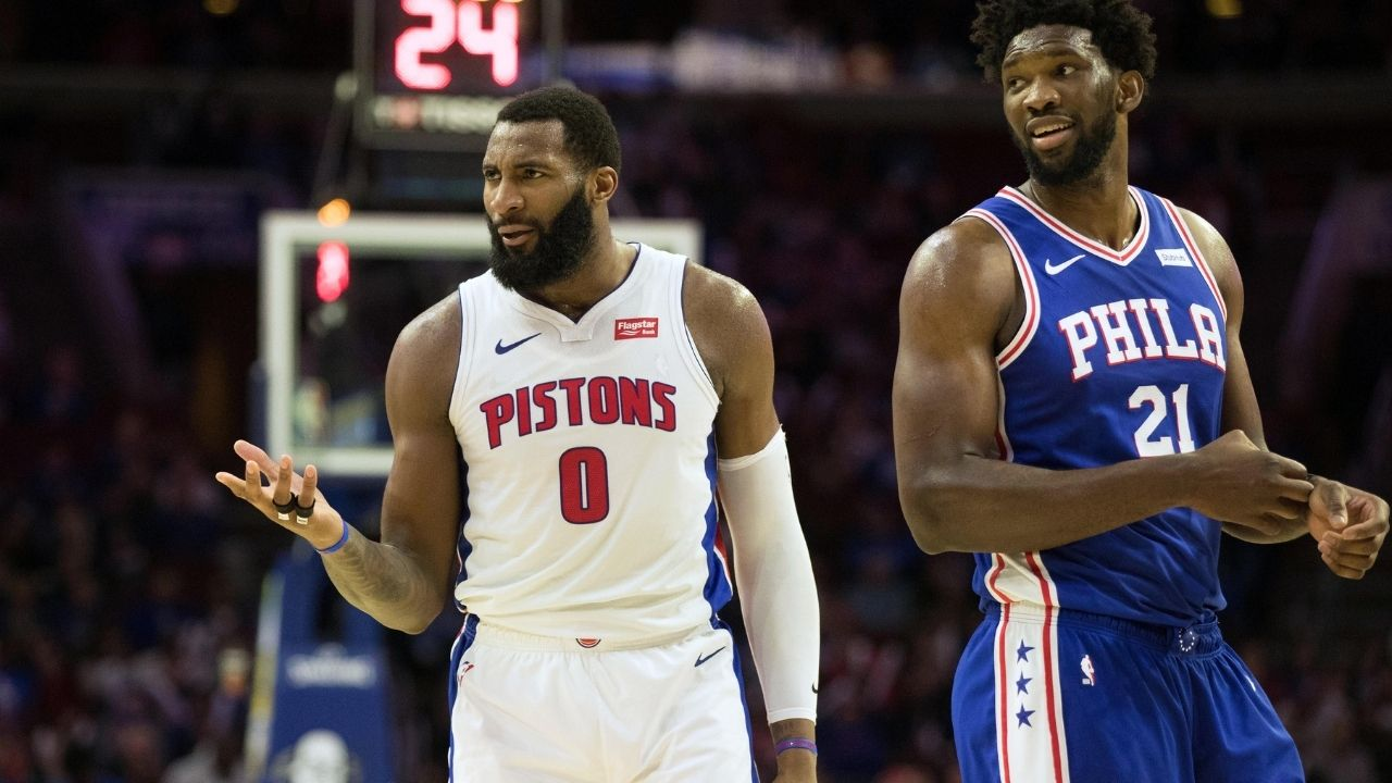 """""""Andre Drummond and Joel Embiid used to have a beef and now they are teammates"""": NBA Twitter explodes after the Big Penguin decides to part ways with the Lakers to join the Philadelphia 76ers on a one-year deal"""
