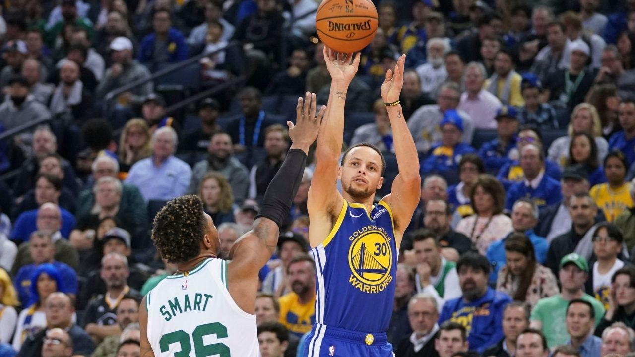 """""""No shot is a bad shot for Stephen Curry"""": Marcus Smart reasons why the Warriors MVP is the most unstoppable shooter he has ever guarded"""