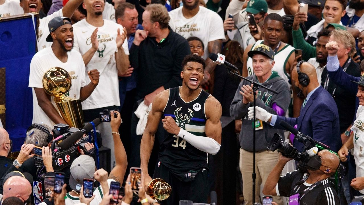 """""""I want to be NBA player"""": A look back at Giannis Antetokounmpo's pre-draft interview from all the way back in 2013"""