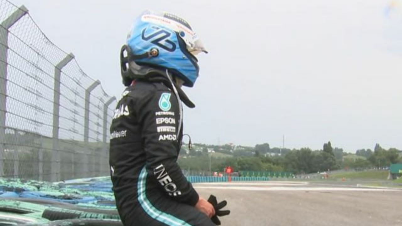 """""""I'm sorry, guys""""– Valtteri Bottas named best teammate in F1's history after causing a wrecking start in Hungarian GP race"""