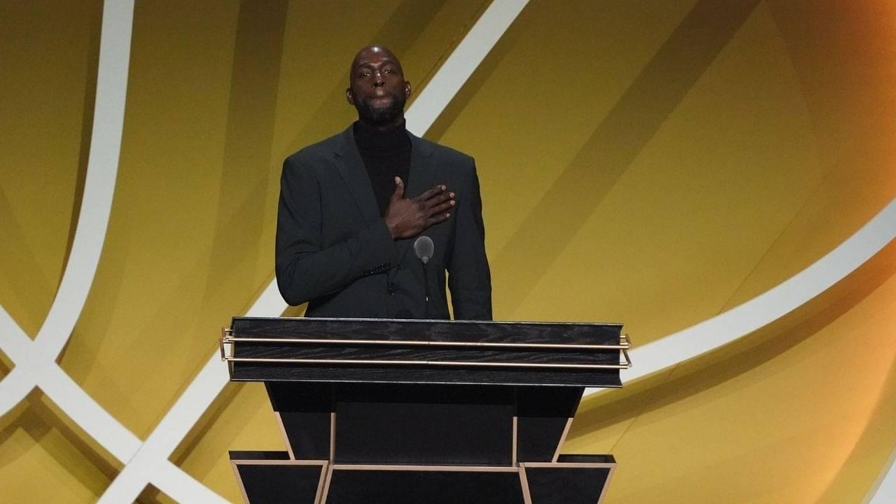 """Minnesota Timberwolves should've retired Kevin Garnett's jersey, not Boston Celtics"": NBA Twitter debates which team should've retired the Big Ticket's jersey number"