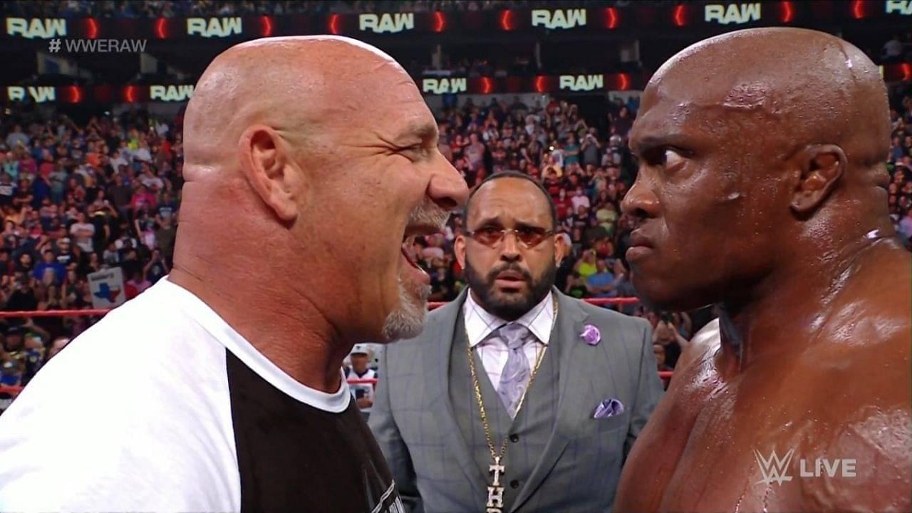 Goldberg talks Bobby Lashley ahead of their WWE Championship bout at SummerSlam