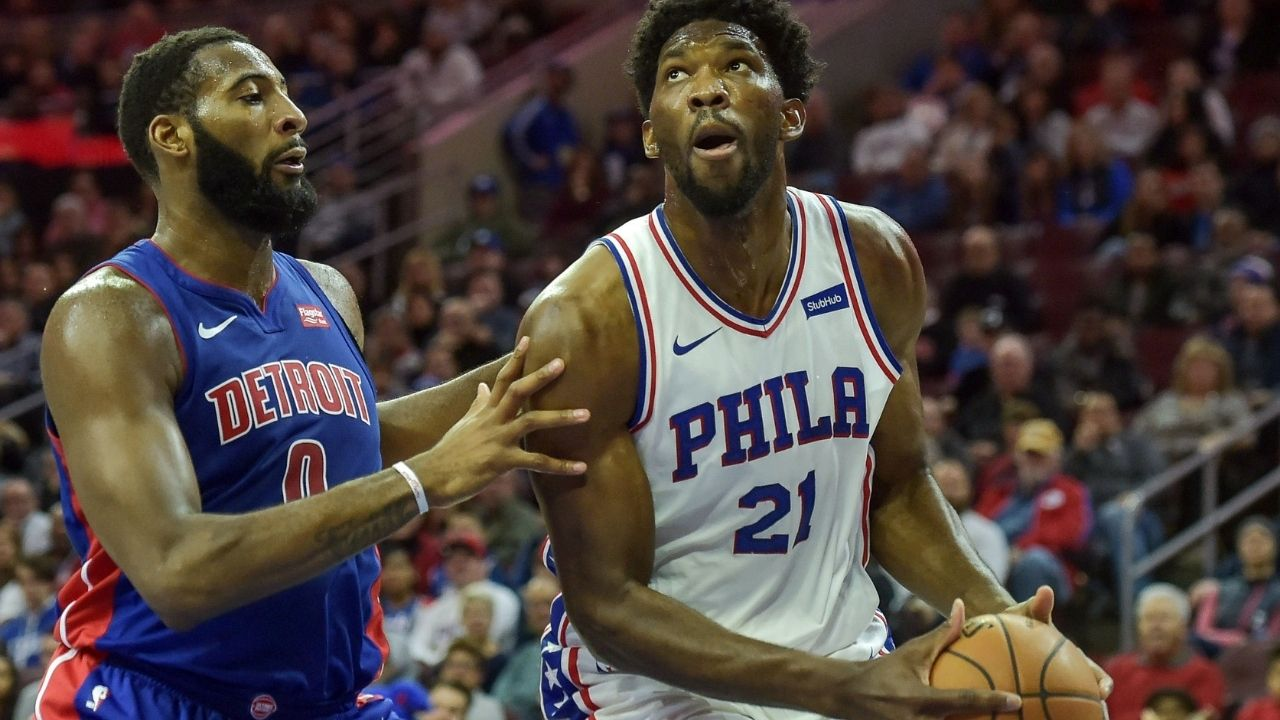 """""""There was no real beef for me with Joel Embiid"""": Newest Philadelphia addition Andre Drummond clears the air addressing the """"beef"""" with the Sixers MVP"""