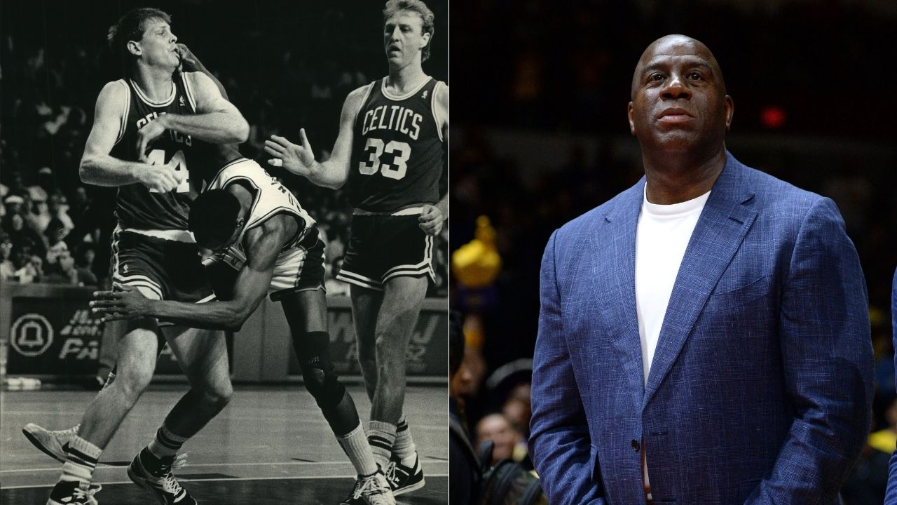 """""""Magic Johnson or Tragic Johnson?"""": How the Lakers legend's collapses helped Larry Bird and his Celtics win the 1984 NBA Finals"""