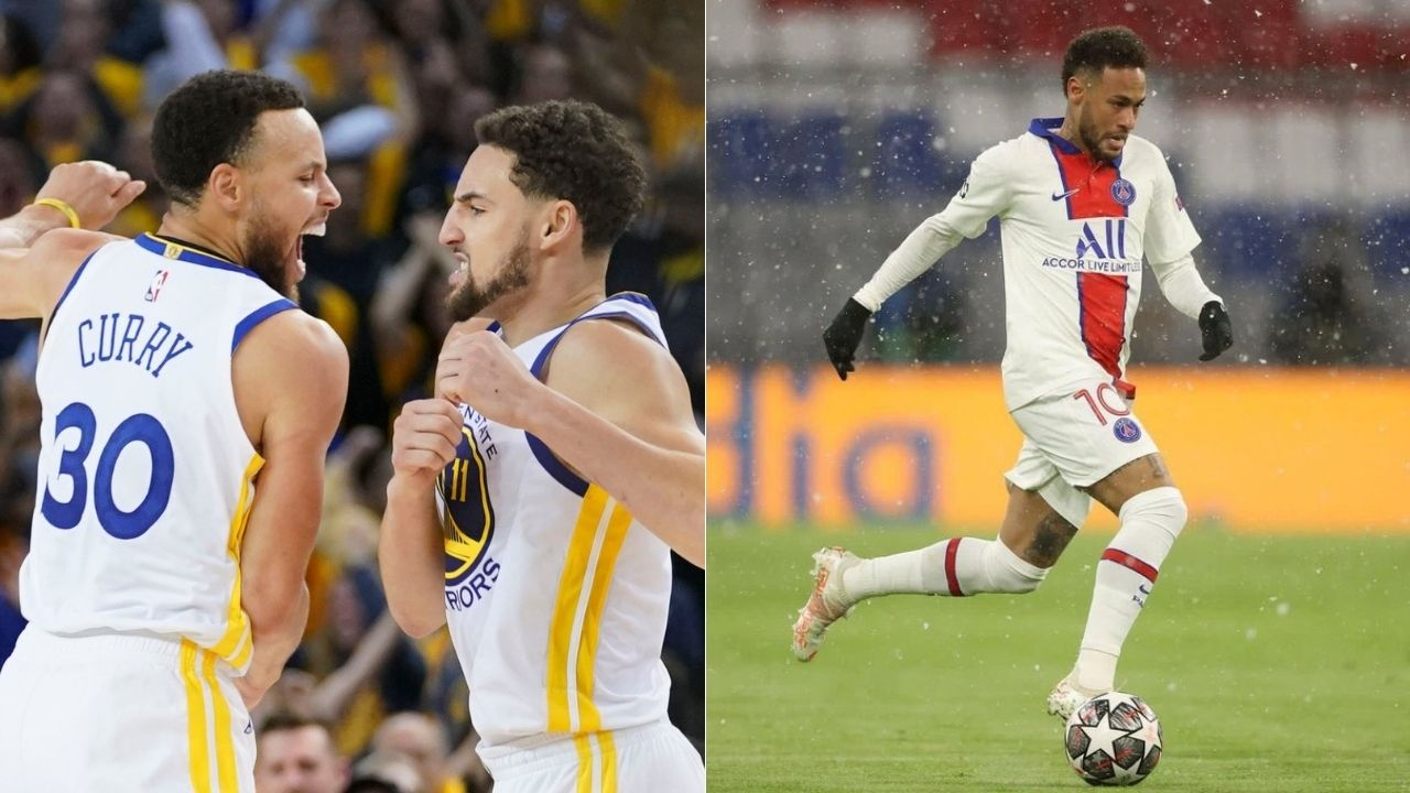 """""""He drops facts only Google knows"""": Stephen Curry and Neymar exchange stories about Klay Thompson and Dani Alves as their funniest teammates"""