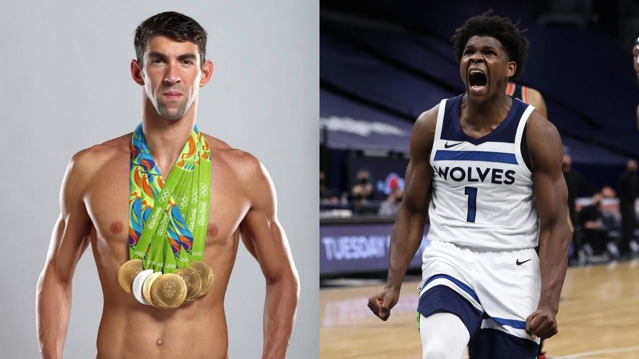 """""""I can swim just like Michael Phelps"""": Timberwolves' Anthony Edwards gives yet another hilarious interview while discussing Lake Minnetonka"""