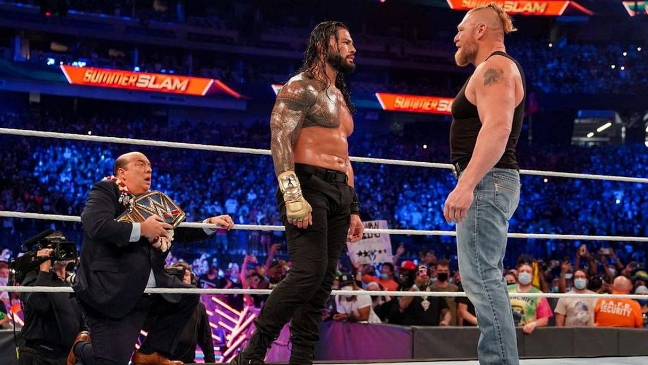Roman Reigns discusses the return of Brock Lesnar at SummerSlam 2021