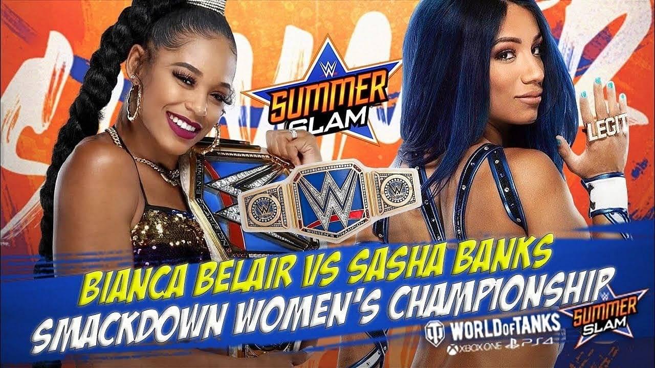 Bianca Belair vs Sasha Banks Wrestlemania rematch announced for SummerSlam 2021